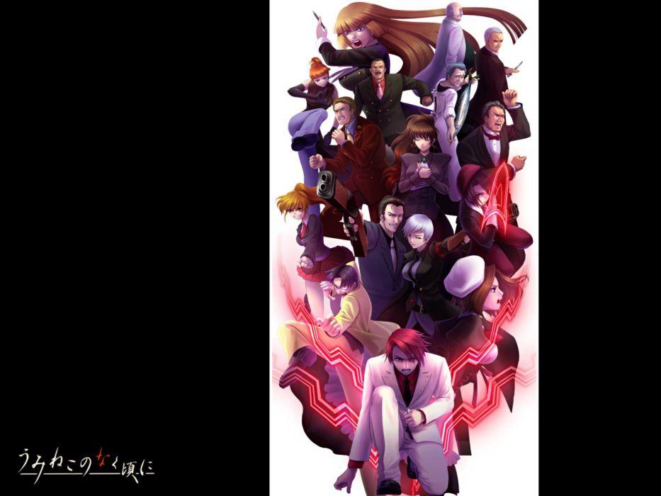 guns Umineko no Naku Koro ni weapons Kanon Ushiromiya Battler Ushiromiya Kyrie Ushiromiya Eva Ushiromiya Rosa Ushiromiya Natsuhi Ushiromiya Jessica Shannon Ushiromiya Rudolf Nanjou Terumasa Ushiromiya George Ushiromiya Krauss Ushiromiya Hideyoshi Kumasawa wallpaper