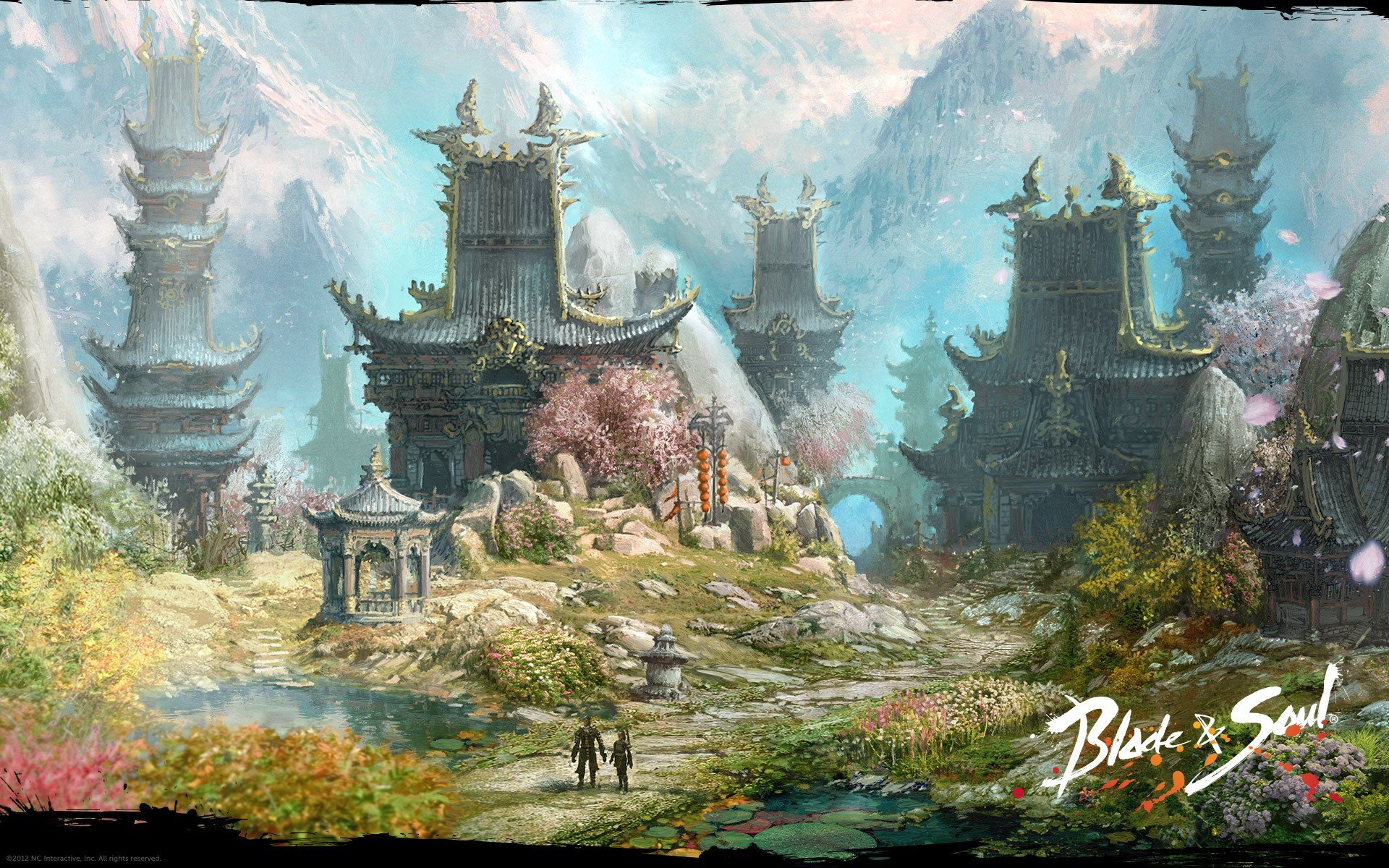 blade & soul anime wallpaper