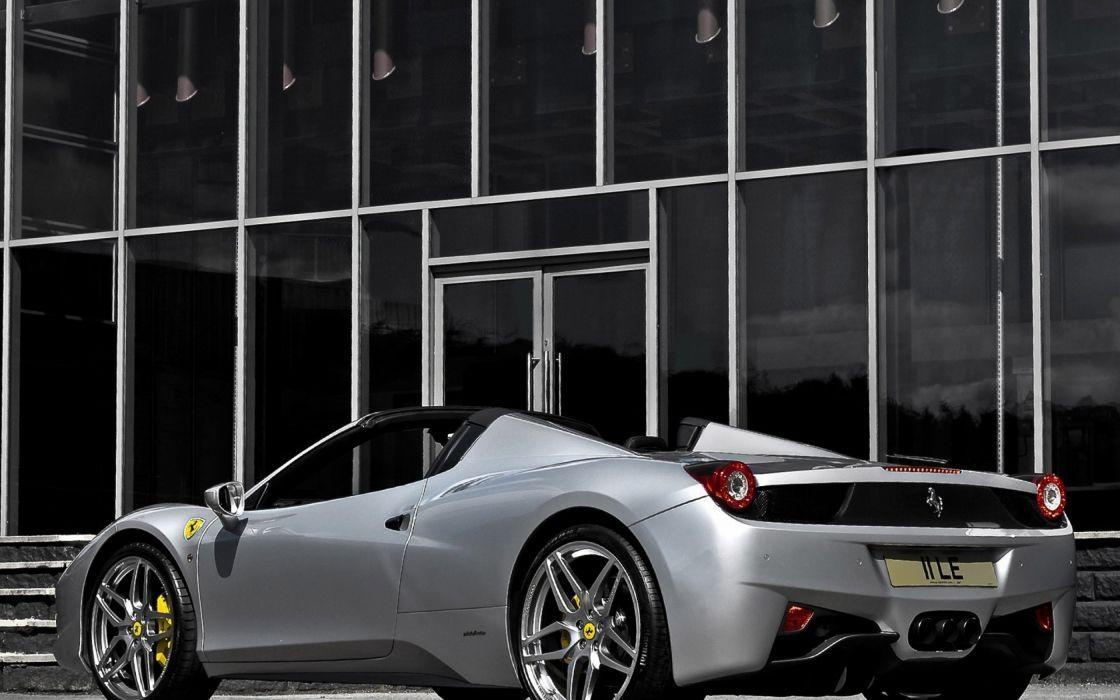 Ferrari supercars Ferrari 458 Spider Ferrari 458 supercar wallpaper