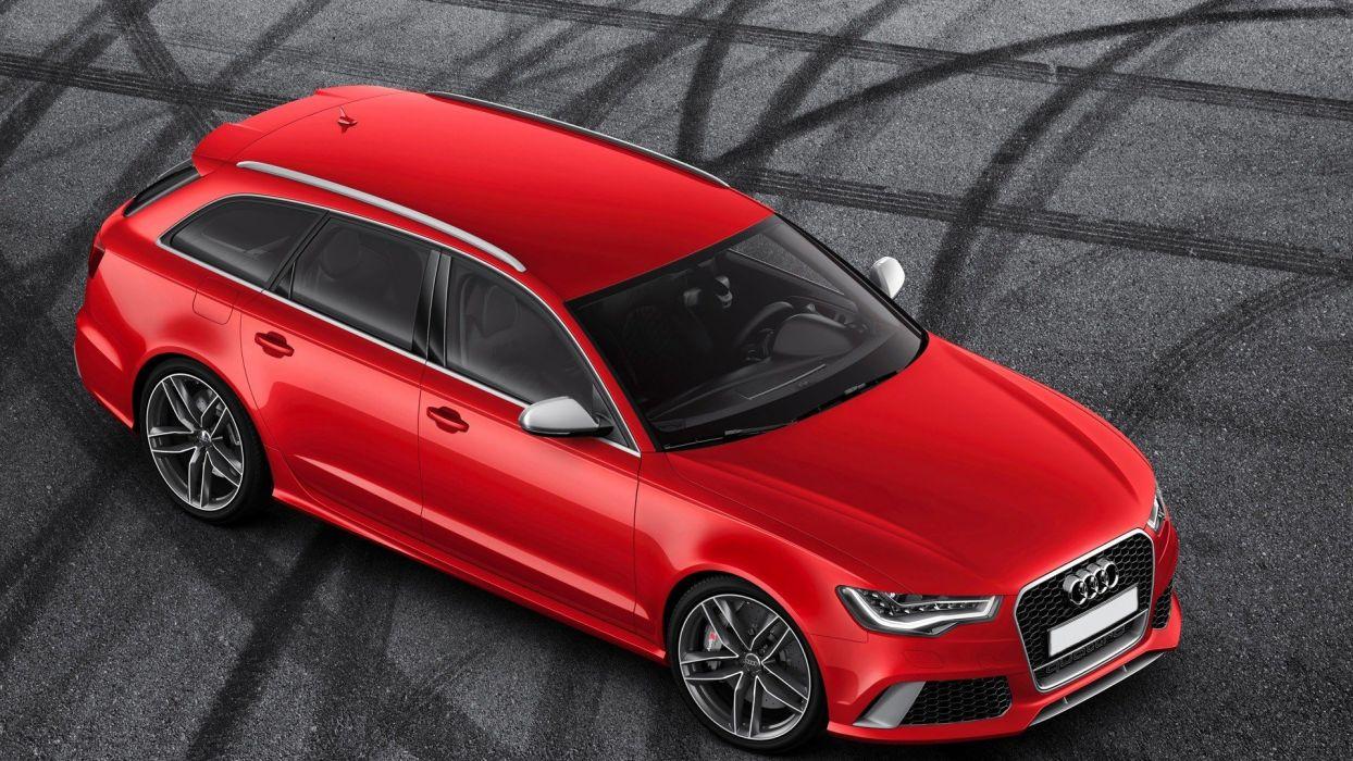 cars Audi Audi RS6 Audi RS6 Avant wallpaper