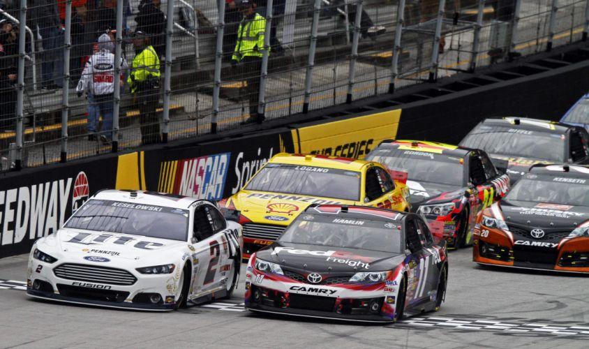 NASCAR race racing (30) wallpaper