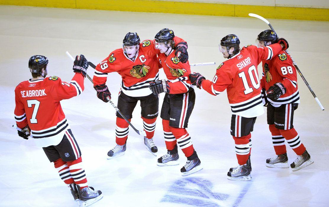 CHICAGO BLACKHAWKS nhl hockey (5) wallpaper