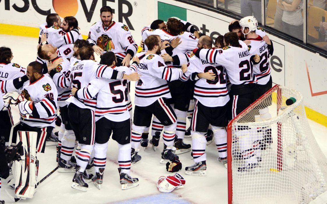 CHICAGO BLACKHAWKS nhl hockey (64) wallpaper