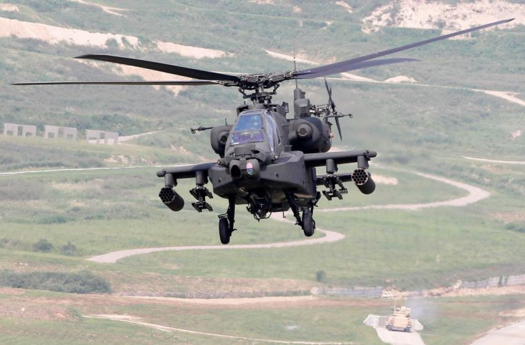 AH-64 APACHE attack helicopter army military weapon (16) wallpaper