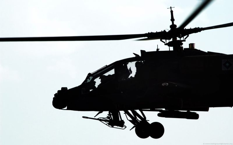 AH-64 APACHE attack helicopter army military weapon (19) wallpaper