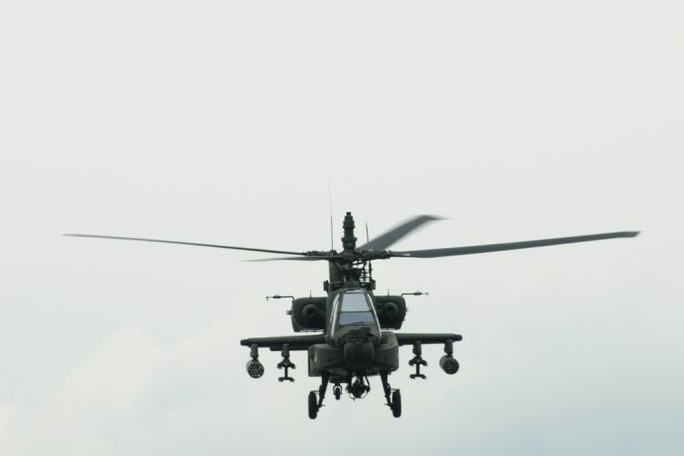 AH-64 APACHE attack helicopter army military weapon (23) wallpaper
