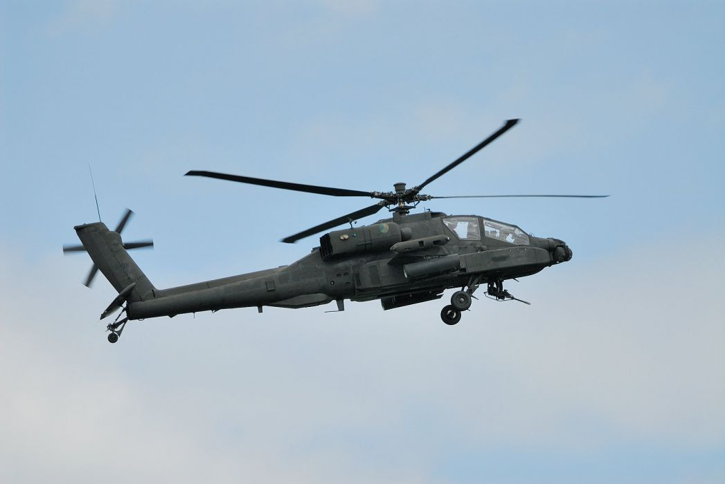 AH-64 APACHE attack helicopter army military weapon (39) wallpaper