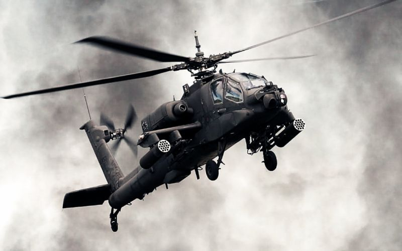 AH-64 APACHE attack helicopter army military weapon (36) wallpaper