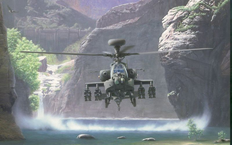 AH-64 APACHE attack helicopter army military weapon (33) wallpaper