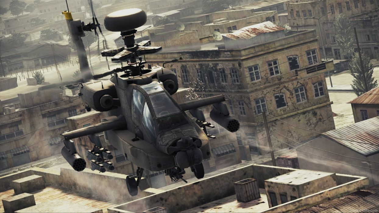 AH-64 APACHE attack helicopter army military weapon (17) wallpaper