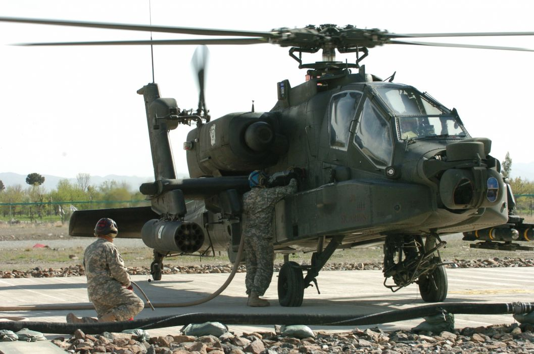 AH-64 APACHE attack helicopter army military weapon (44) wallpaper
