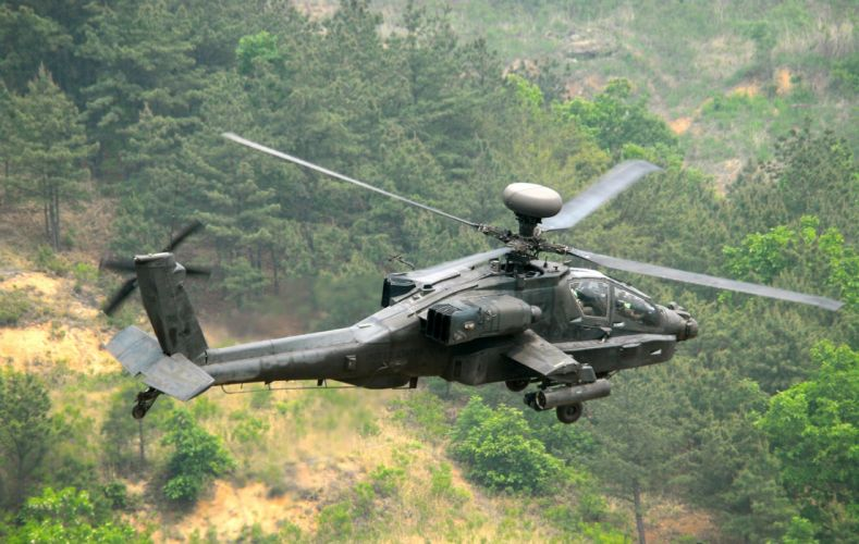 AH-64 APACHE attack helicopter army military weapon (41) wallpaper