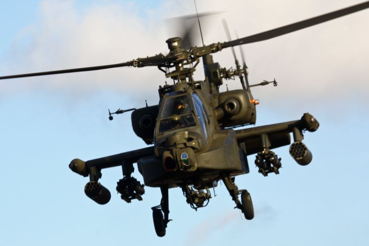 AH-64 APACHE attack helicopter army military weapon (30) wallpaper