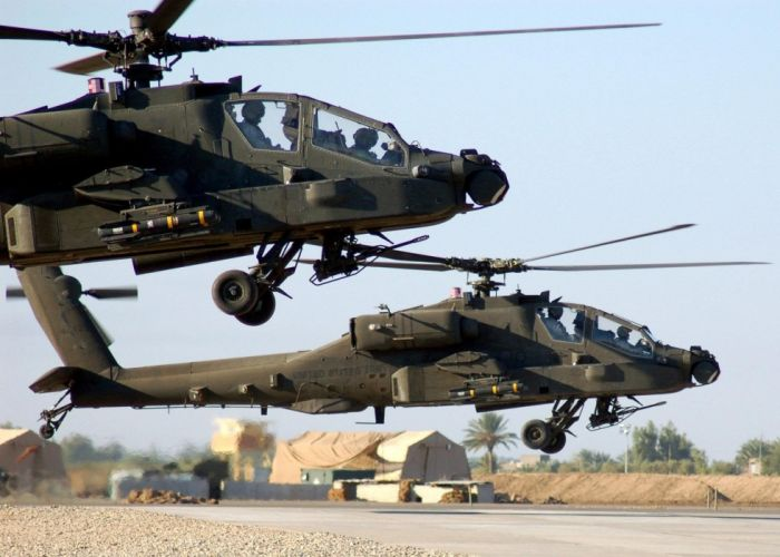 AH-64 APACHE attack helicopter army military weapon (15) wallpaper
