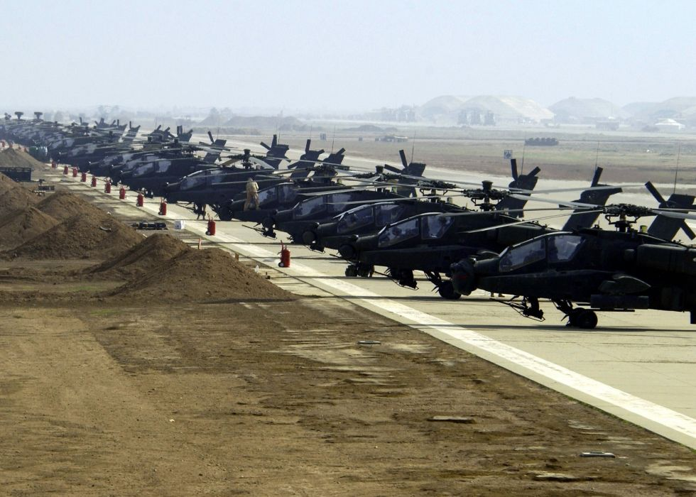 AH-64 APACHE attack helicopter army military weapon (14) wallpaper