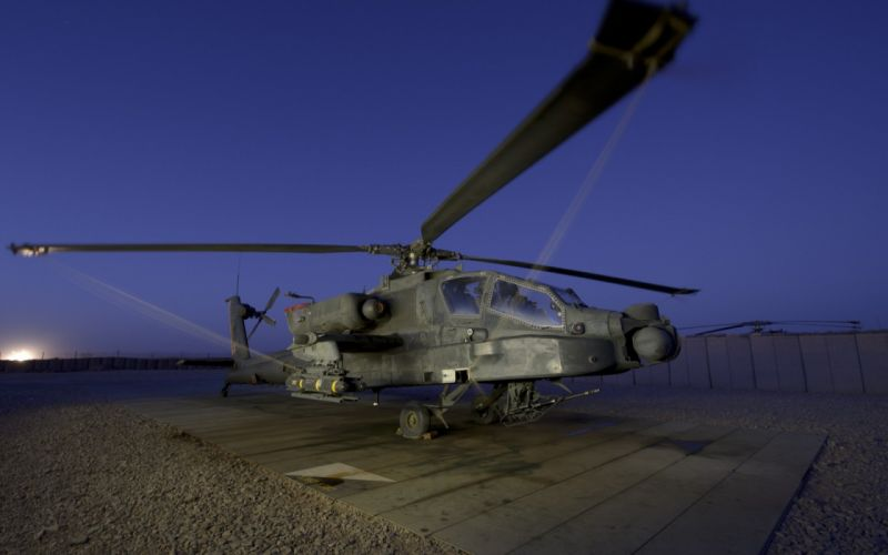 AH-64 APACHE attack helicopter army military weapon (48) wallpaper