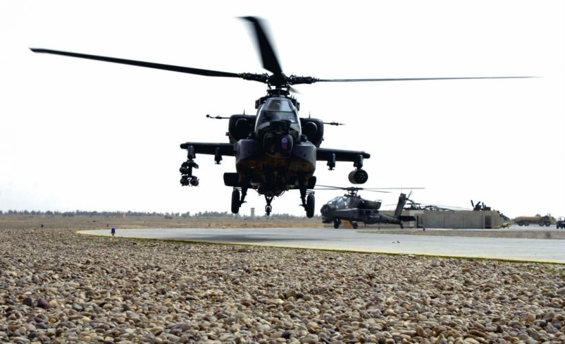 AH-64 APACHE attack helicopter army military weapon (50) wallpaper
