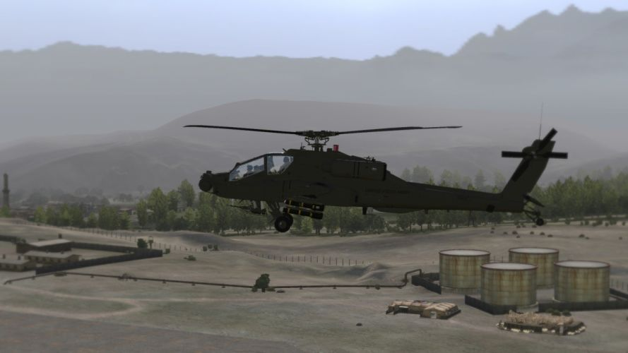 AH-64 APACHE attack helicopter army military weapon (60) wallpaper