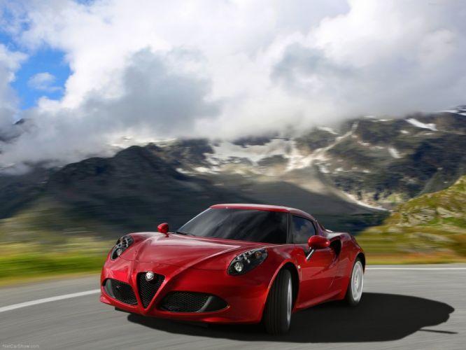 Alfa Romeo-4C 2014 1600x1200 wallpaper 17 wallpaper
