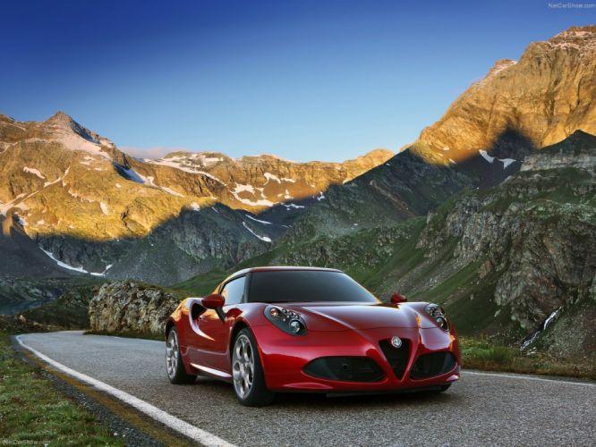 Alfa Romeo-4C 2014 1600x1200 wallpaper 13 wallpaper