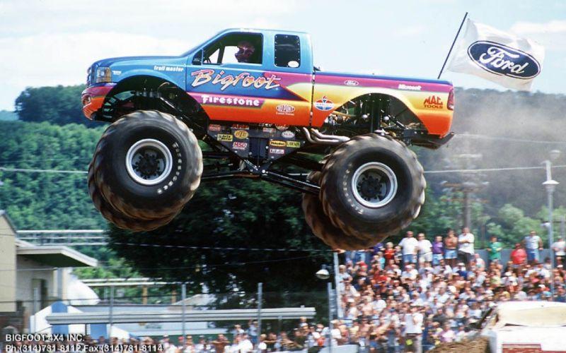 MONSTER-TRUCK race racing offroad 4x4 hot rod rods monster trucks truck (1) wallpaper