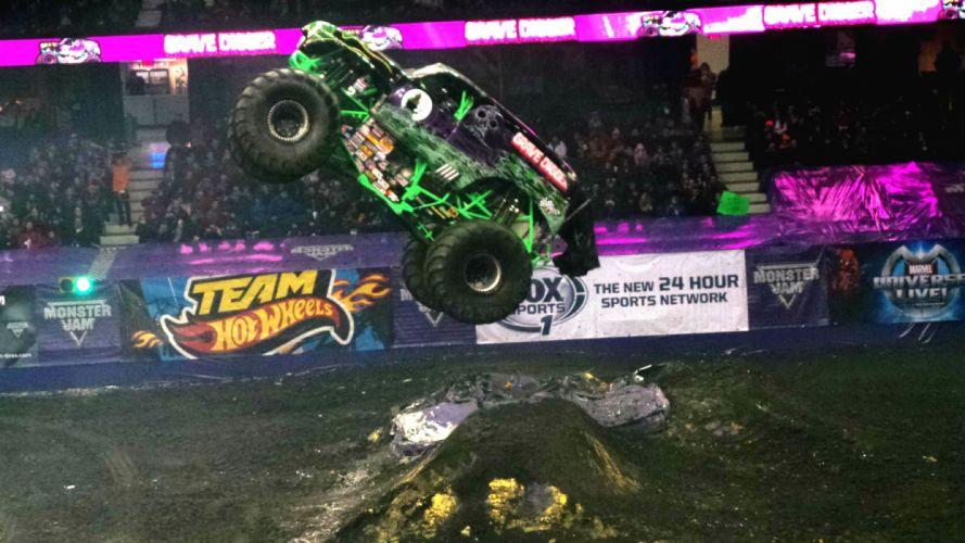 MONSTER-TRUCK race racing offroad 4x4 hot rod rods monster trucks truck (14) wallpaper