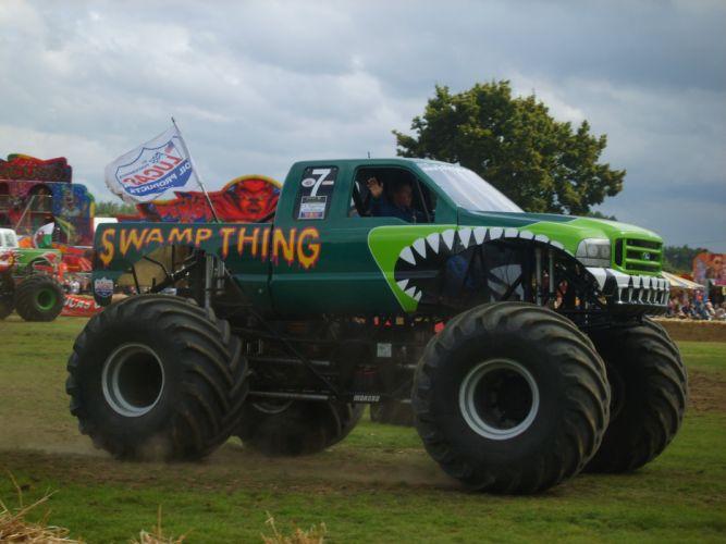 MONSTER-TRUCK race racing offroad 4x4 hot rod rods monster trucks truck (11) wallpaper