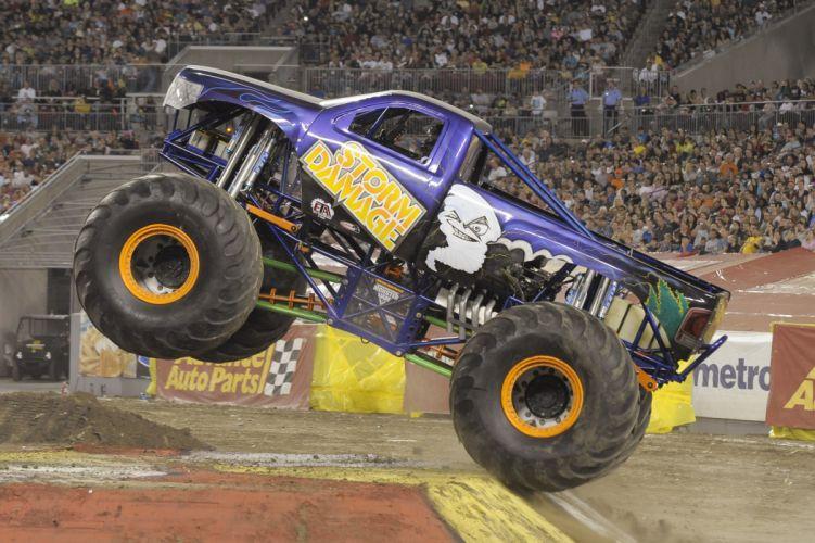 MONSTER-TRUCK race racing offroad 4x4 hot rod rods monster trucks truck (12) wallpaper
