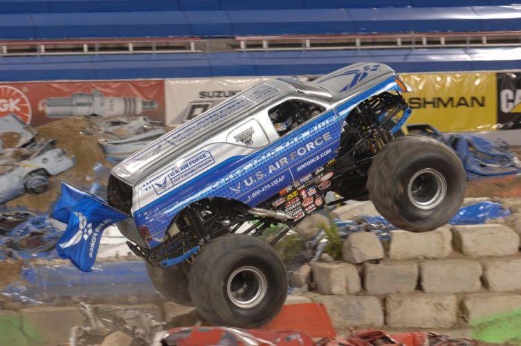 MONSTER-TRUCK race racing offroad 4x4 hot rod rods monster trucks truck (16) wallpaper