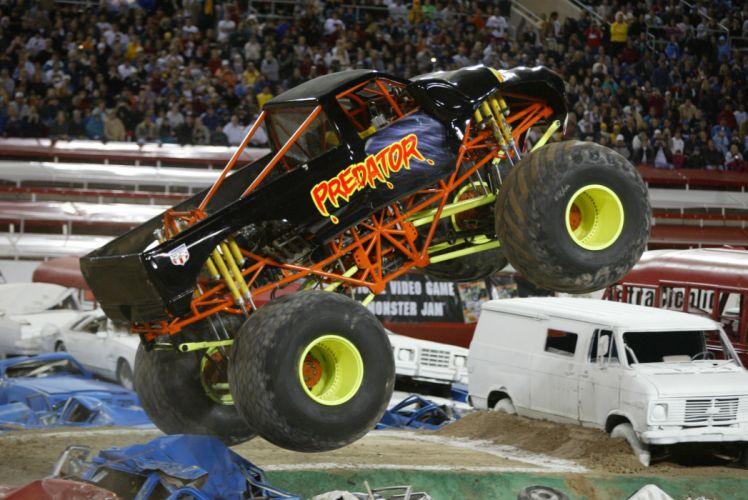 MONSTER-TRUCK race racing offroad 4x4 hot rod rods monster trucks truck (20) wallpaper