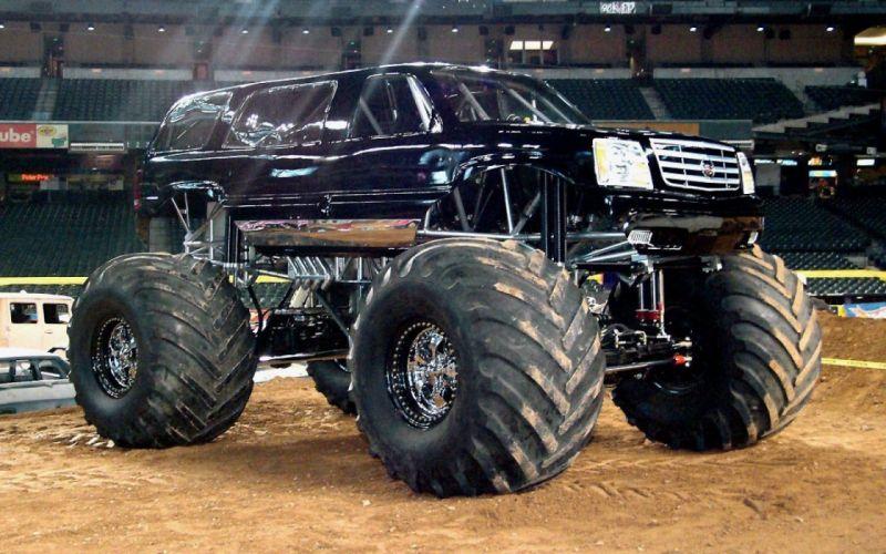 MONSTER-TRUCK race racing offroad 4x4 hot rod rods monster trucks truck (21) wallpaper