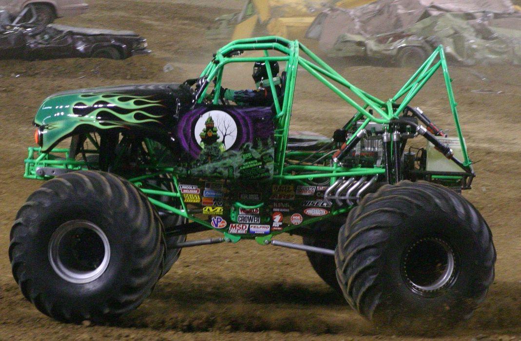 MONSTER-TRUCK race racing offroad 4x4 hot rod rods monster trucks truck (31) wallpaper