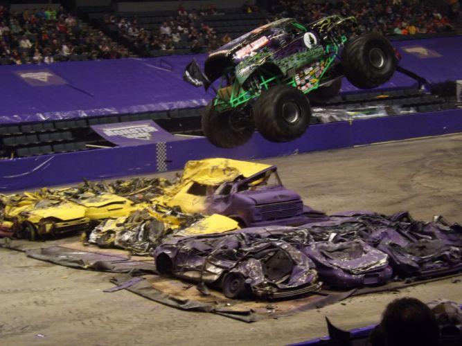 MONSTER-TRUCK race racing offroad 4x4 hot rod rods monster trucks truck (24) wallpaper