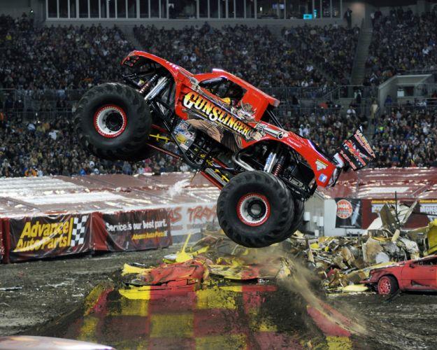 MONSTER-TRUCK race racing offroad 4x4 hot rod rods monster trucks truck (27) wallpaper