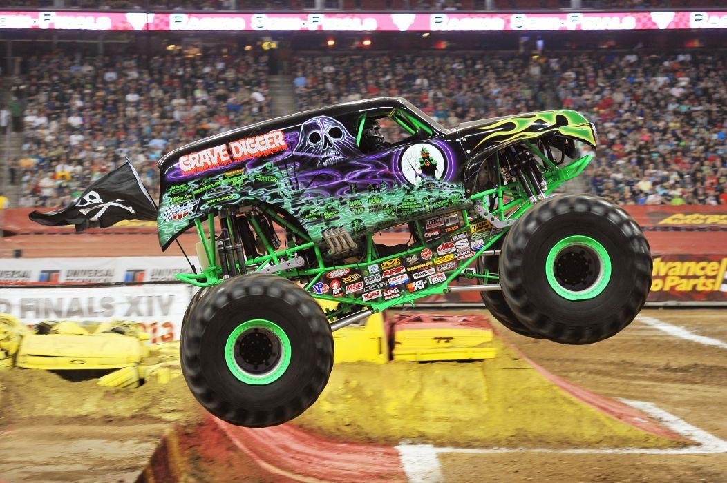 MONSTER-TRUCK race racing offroad 4x4 hot rod rods monster trucks truck (39) wallpaper