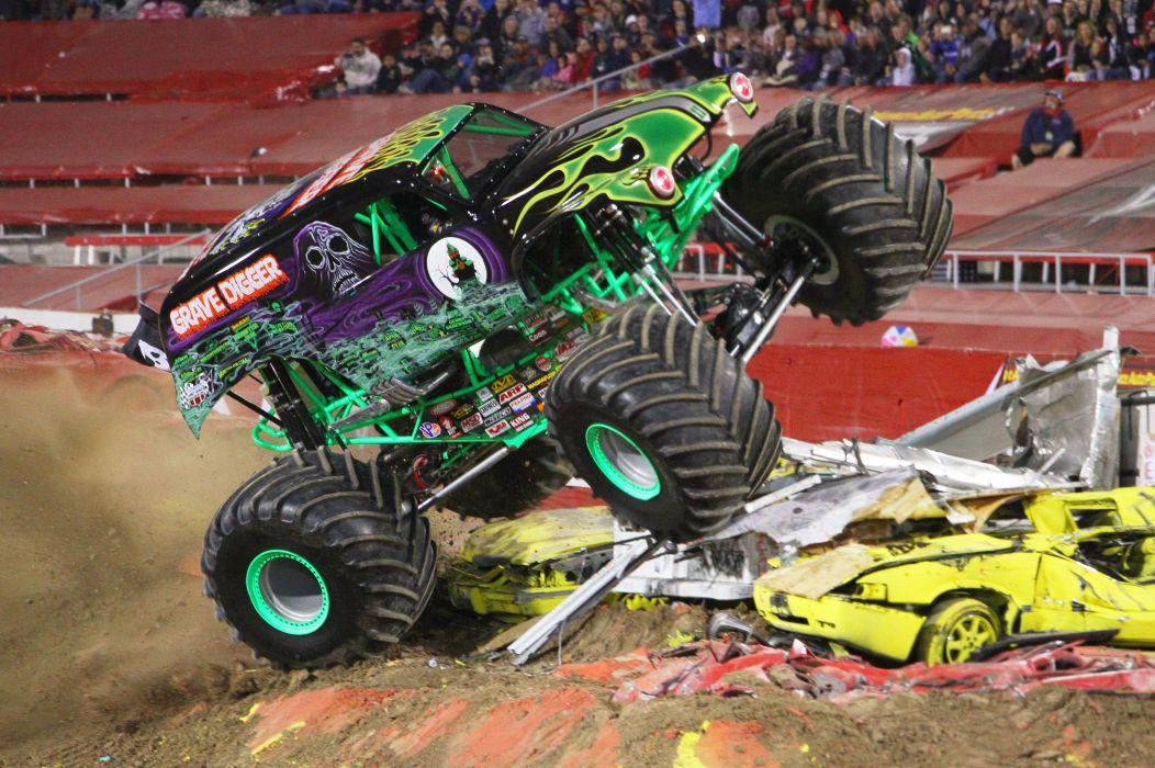 MONSTER-TRUCK race racing offroad 4x4 hot rod rods monster trucks truck (33) wallpaper