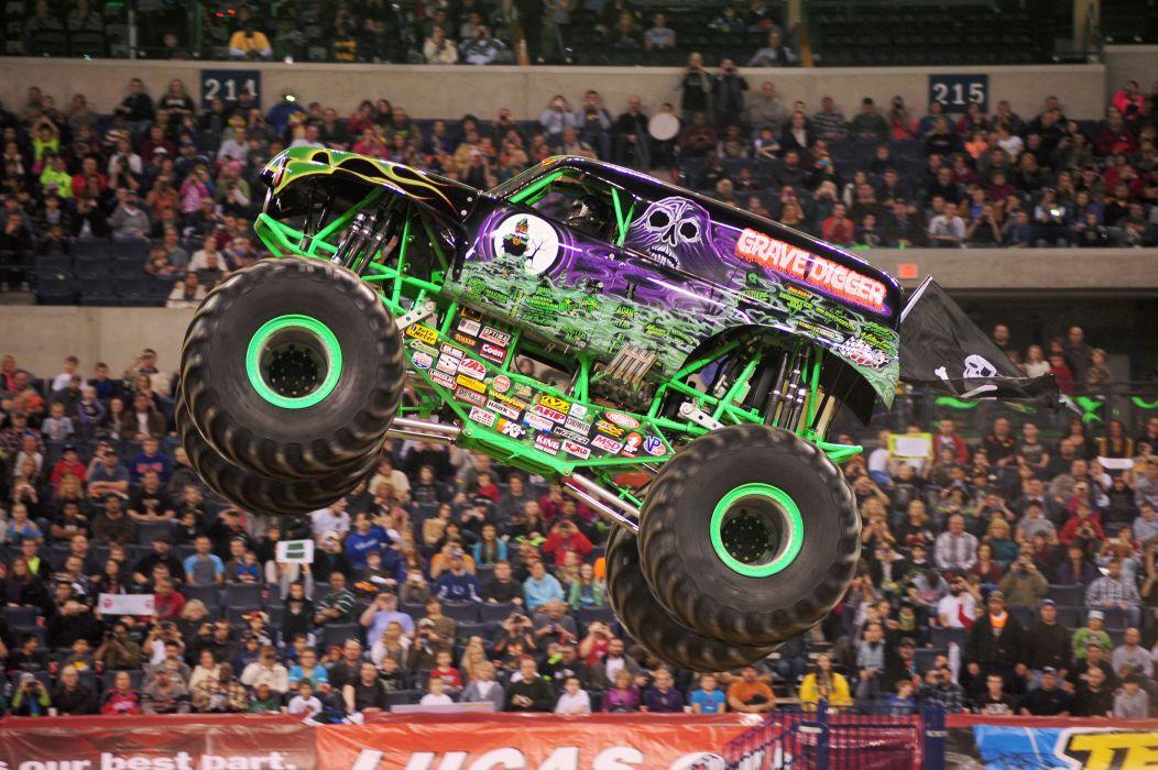 MONSTER-TRUCK race racing offroad 4x4 hot rod rods monster trucks truck (35) wallpaper