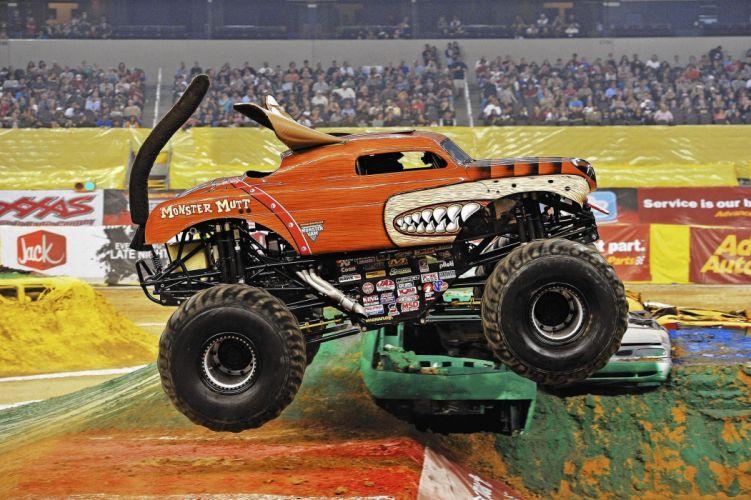 MONSTER-TRUCK race racing offroad 4x4 hot rod rods monster trucks truck (41) wallpaper