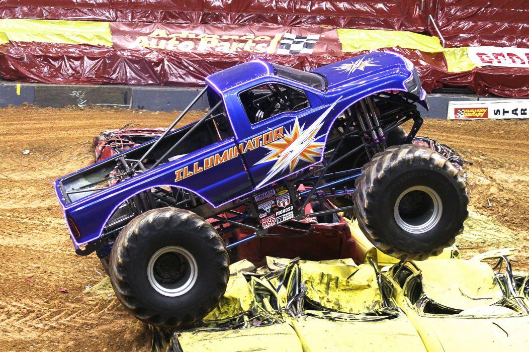 MONSTER-TRUCK race racing offroad 4x4 hot rod rods monster trucks truck (44) wallpaper