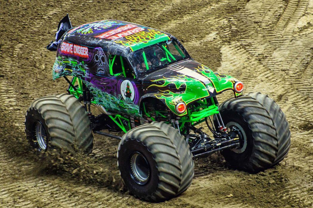 MONSTER-TRUCK race racing offroad 4x4 hot rod rods monster trucks truck (40) wallpaper