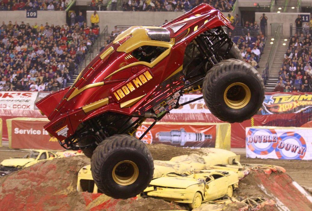 MONSTER-TRUCK race racing offroad 4x4 hot rod rods monster trucks truck (55) wallpaper