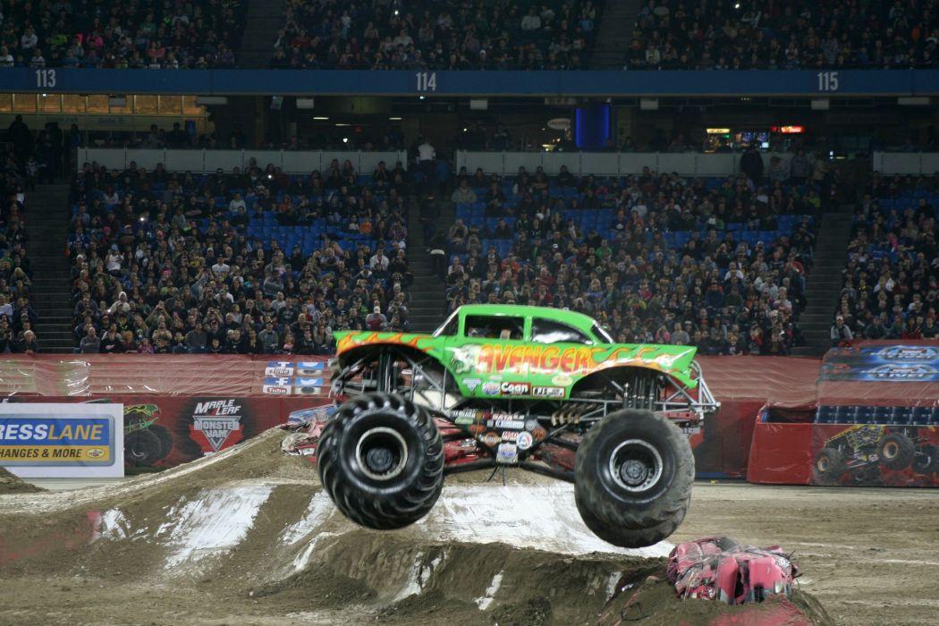 MONSTER-TRUCK race racing offroad 4x4 hot rod rods monster trucks truck (54) wallpaper