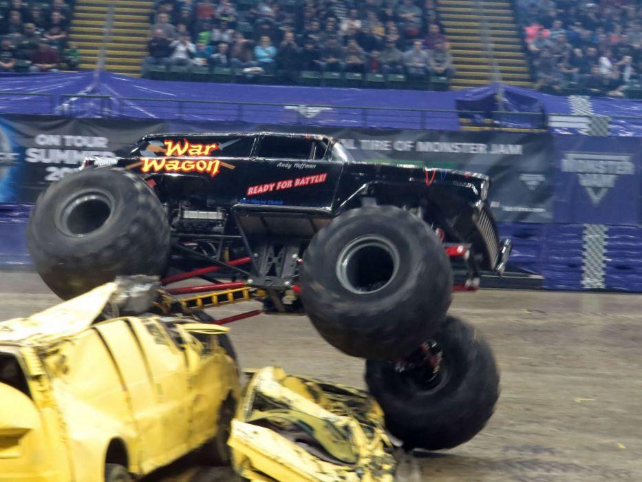 MONSTER-TRUCK race racing offroad 4x4 hot rod rods monster trucks truck (49) wallpaper