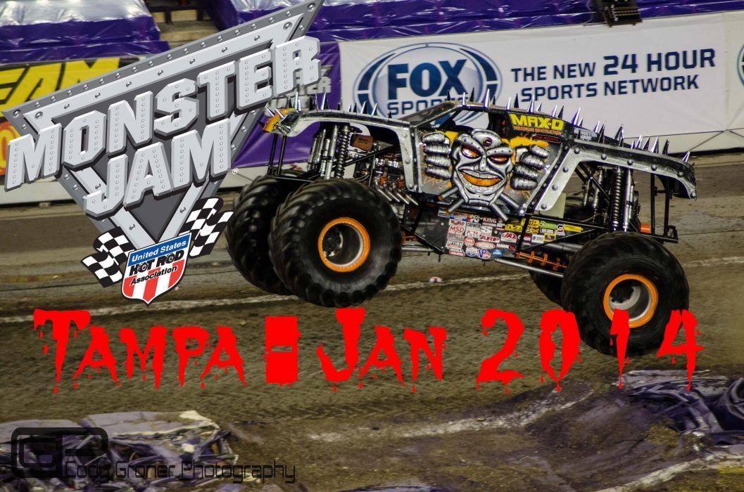 MONSTER-TRUCK race racing offroad 4x4 hot rod rods monster trucks truck (60) wallpaper