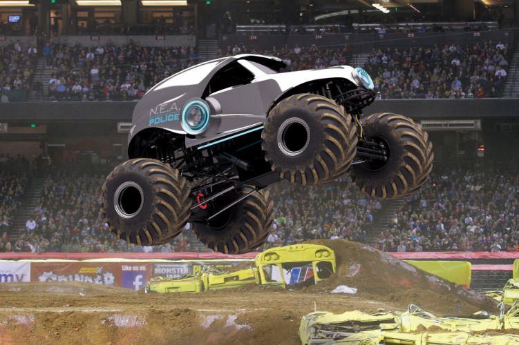 MONSTER-TRUCK race racing offroad 4x4 hot rod rods monster trucks truck (63) wallpaper