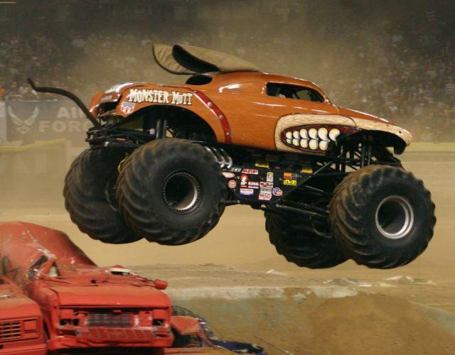 MONSTER-TRUCK race racing offroad 4x4 hot rod rods monster trucks truck (66) wallpaper