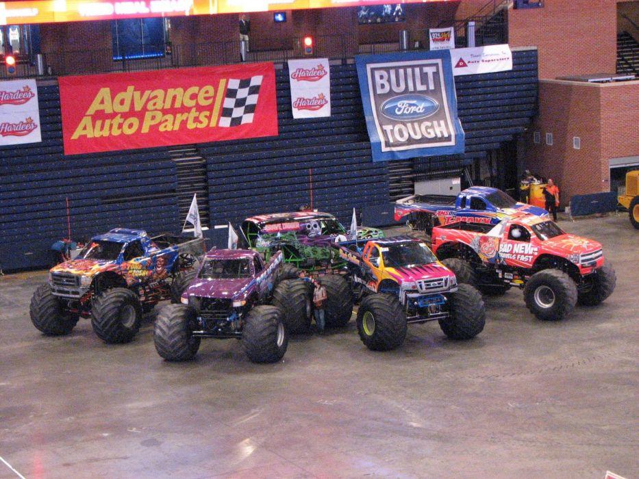 MONSTER-TRUCK race racing offroad 4x4 hot rod rods monster trucks truck (67) wallpaper