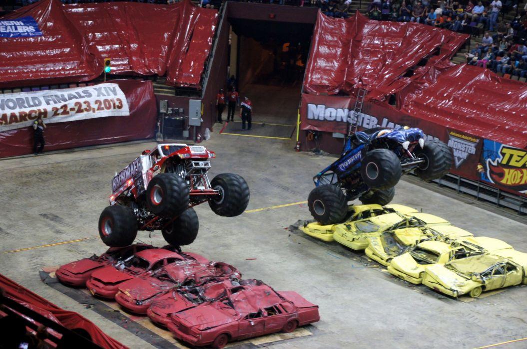 MONSTER-TRUCK race racing offroad 4x4 hot rod rods monster trucks truck (76) wallpaper