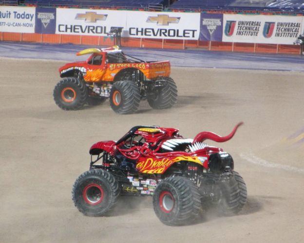 MONSTER-TRUCK race racing offroad 4x4 hot rod rods monster trucks truck (73) wallpaper