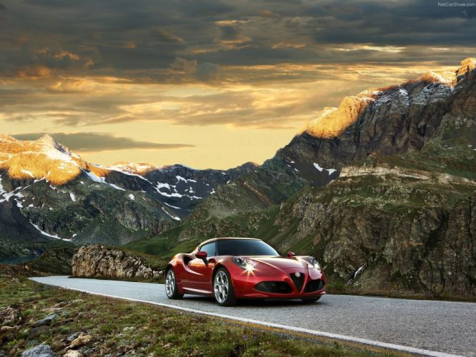 Alfa Romeo-4C 2014 1600x1200 wallpaper 02 wallpaper